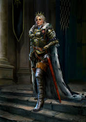 Cirilla. The Empress of Nilfgaard by YuriPlatov