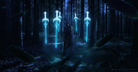 Master of Swords  by ShinobuFX