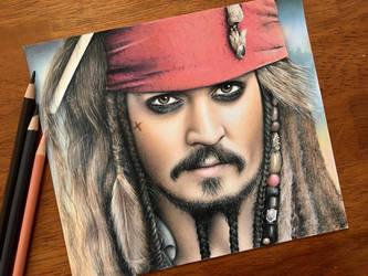 Jack Sparrow by AmongSakura