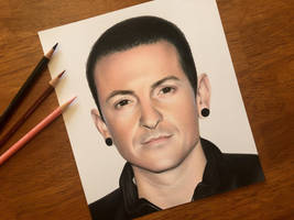 Chester Bennington Tribute  by AmongSakura