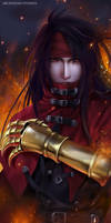 Vincent Valentine Final Fantasy VII Remake by ArchaediaStudios