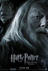 Movie6Poster Dumbledore Mosaic by smallrinilady
