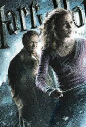 Movie6Poster Hermione Mosaic by smallrinilady