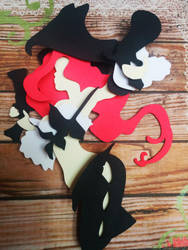 Miss Fortune Papercut by smallrinilady