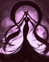 Dark Lady by teriopi