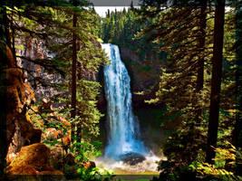 Salt Creek Falls by Latrodectus-Pallidus