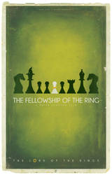 The Fellowship Of The Ring Chess by BarbarianFactory