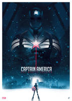 Captain America The Winter Soldier (PosterPosse#5) by BarbarianFactory