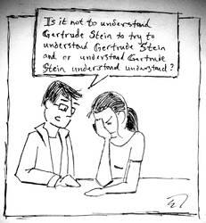 Gertrude Stein by spazahedron
