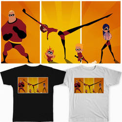 The Incredibles by UltraViolet3