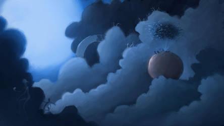 James and the Cloud People by cvelarde