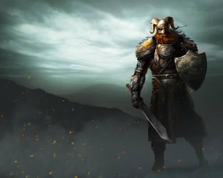 Viking Warrior by cvelarde