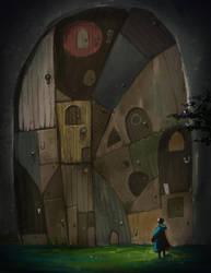 The Door of Doors by cvelarde