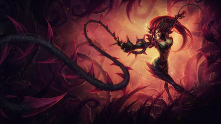 Zyra Rise of the Thorns by katiedesousa