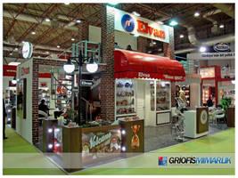 Elvan Gida Exhibition Stand Design - 3D by GriofisMimarlik