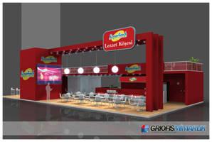 Superfresh Exhibition Stand - 3D by GriofisMimarlik
