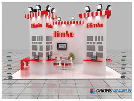 Elimko Exhibition Stand - 3D by GriofisMimarlik