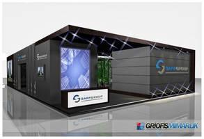 Sarp Group Exhibition Stand 3D by GriofisMimarlik