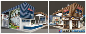 Ulker Eksper Exhibition Stand 01 3D by GriofisMimarlik