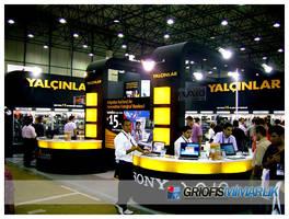Yalcinlar Exhibition Stand Photo by GriofisMimarlik