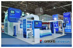 Turkiye Is Bankasi Exhibition Stand Design Photo by GriofisMimarlik