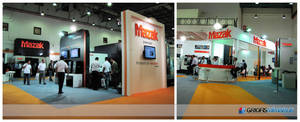 MAZAK Exhibition Stand Design Photo by GriofisMimarlik