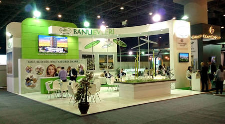 Banu Evleri Exhibition Stand Design Photo by GriofisMimarlik