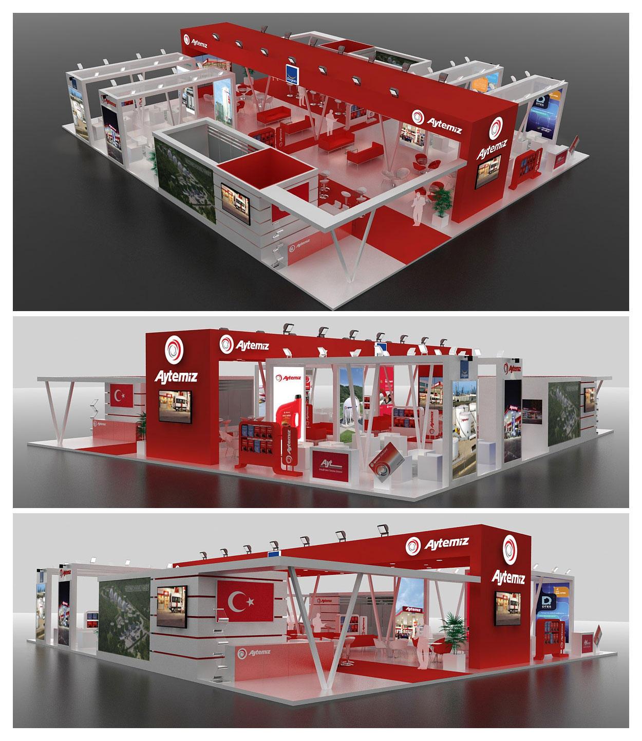 Aytemiz Exhibition Stand Design 3D by GriofisMimarlik