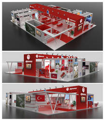 Aytemiz Exhibition Stand Design 3D by GriofisMimarlik