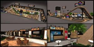 Ulker Eksper Exhibition Stand Design 3D by GriofisMimarlik