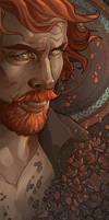 Captain Flint, Black Sails by MimmuArt