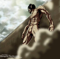 Shingeki No Kyojin - Titan Eren by Aoi-Heart