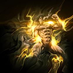 Titan's Power (Smudge) by Aoi-Heart
