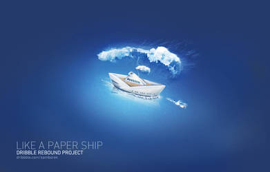 Like a paper Ship by samborek