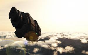 Pillar of Autumn flight by JAW1002