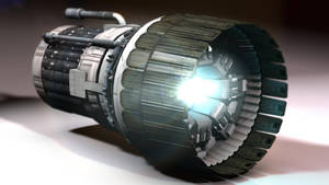 Starliner Ion engine by JAW1002