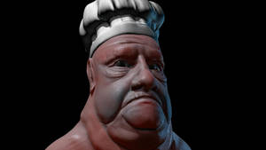 Old Fat Baker by JAW1002