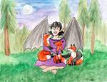 Lunaea Loves Foxes! by Zakuro-Kona