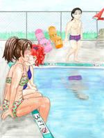 Poolside Profile by Zakuro-Kona