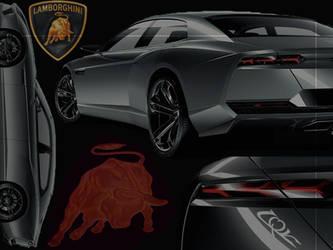 Lamborghini Estoque by firebladenatjox