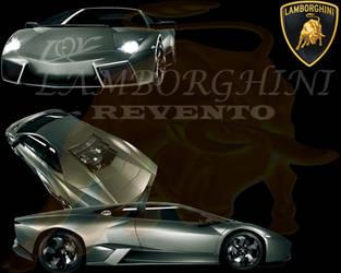 Lamborghini Reventon by firebladenatjox