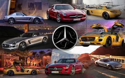 Mercedes SLS by firebladenatjox