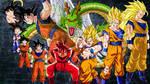 Goku Transformations by firebladenatjox