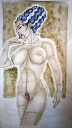 The Bride - Frankenstein by Kermitt3