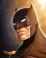 Batman Portrait by mregina