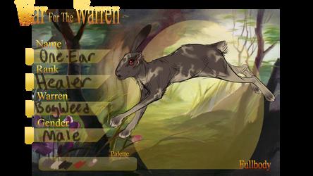 One Ear   War For The Warren by ocellifera
