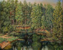 Wspomnienie lata by Wojciech-Wierzynski