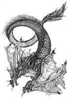 The Dragon. by Yan-Doroshev