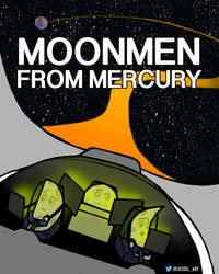 Moonmen From Mercury by JessiArts