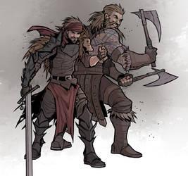 Mercenaries by HolyVarus